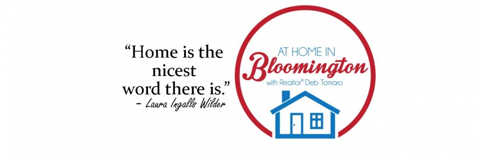 At Home In Bloomington - Cover Image