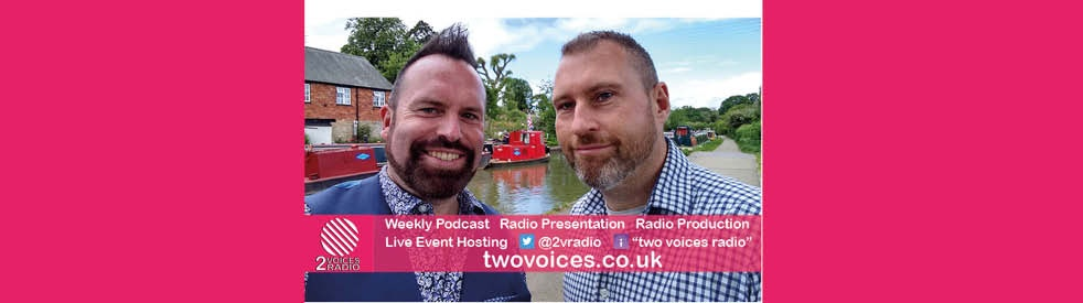 Two Voices Radio Podcast - Cover Image