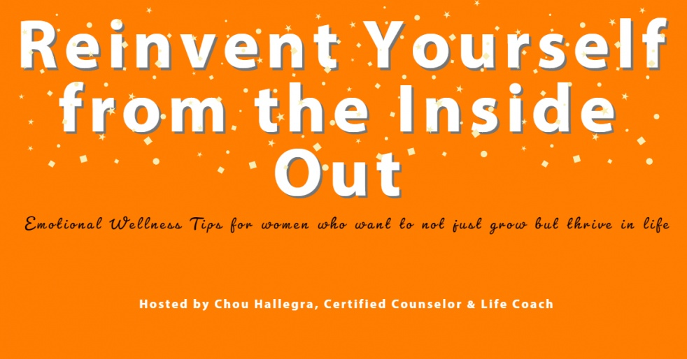 Reinvent Yourself From The Inside Out - show cover