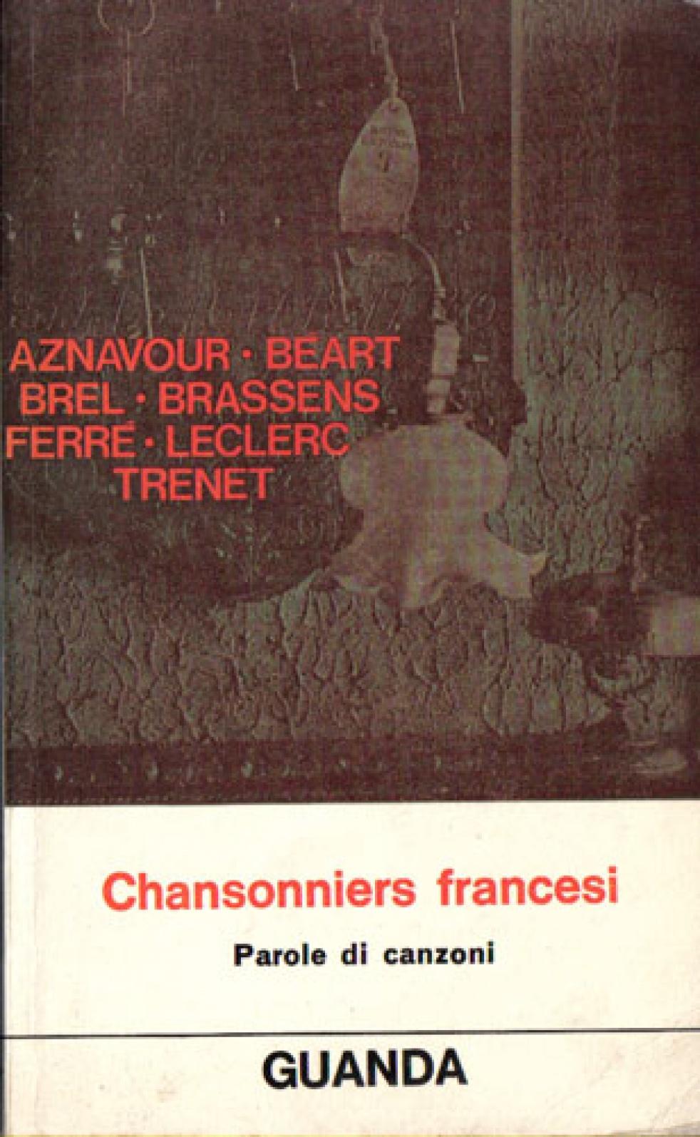 GIi chansonniers fancesi - immagine di copertina dello show