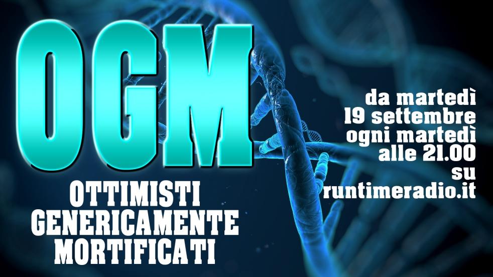OGM: Ottimisti Genericamente Mortificati - show cover