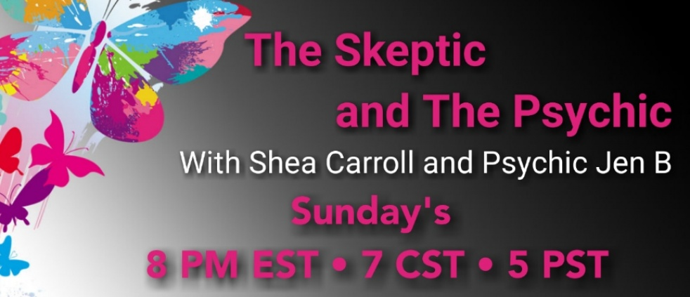 The Skeptic and The Psychic - show cover
