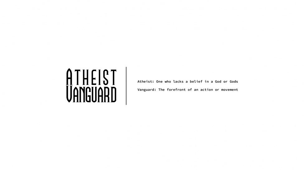 Atheist Vanguard - Cover Image