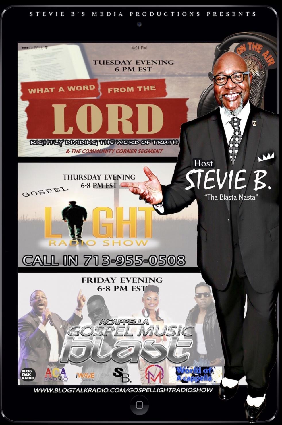 Stevie B's Acappella Gospel Music Blast - imagen de show de portada