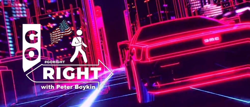 #GoRight with Peter Boykin - show cover