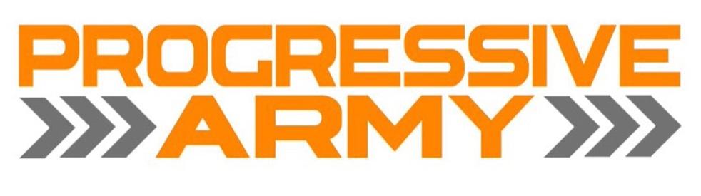 The Progressive Army - Cover Image
