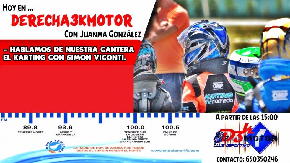 Derecha 3K Motor - immagine di copertina dello show