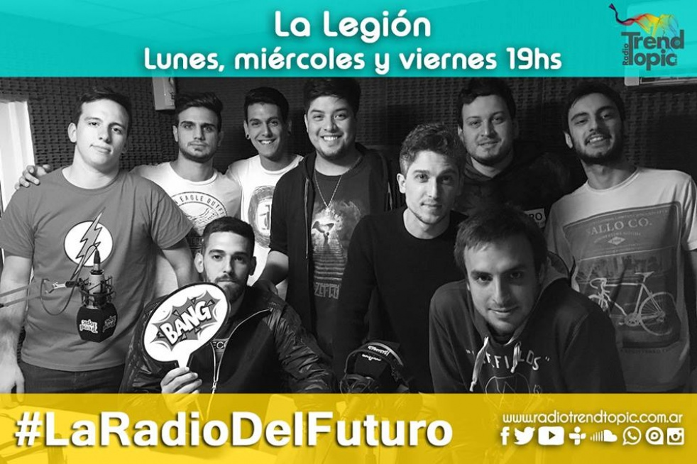 La Legión - Radio Trend Topic - show cover