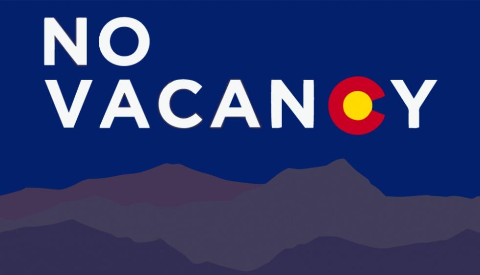 No Vacancy Colorado - show cover