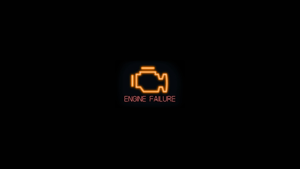 Engine Failure - show cover