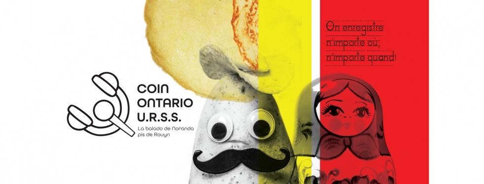 Au coin Ontario/URSS - imagen de portada