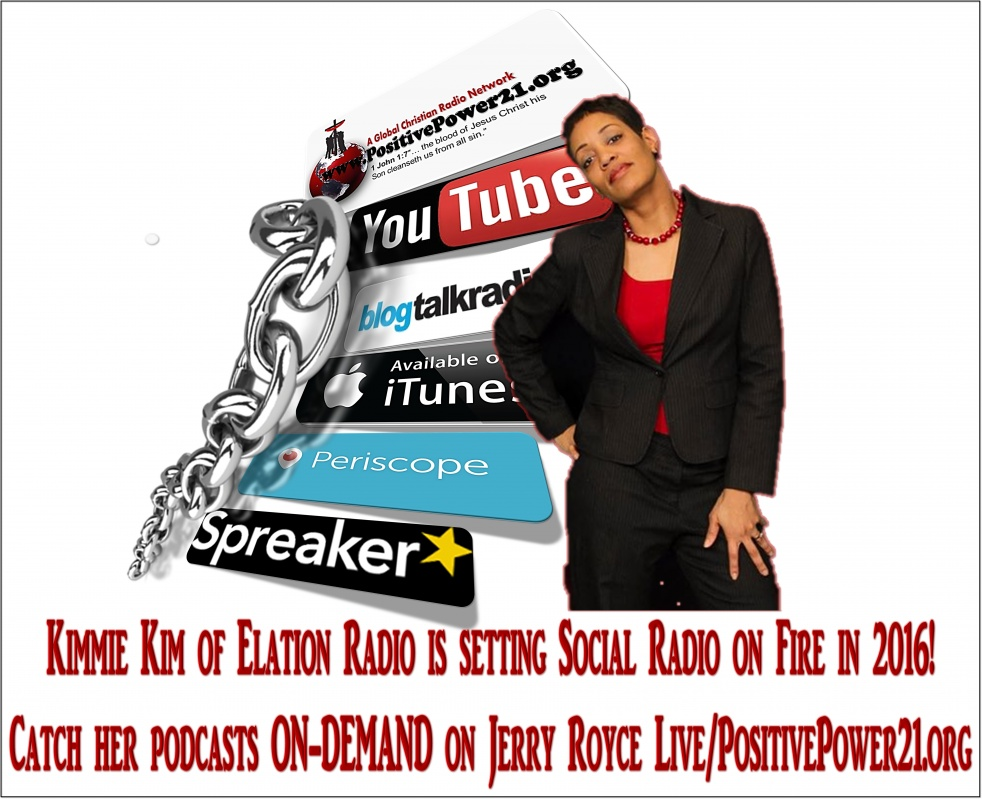 Elation Radio with Kimmie Kim - show cover