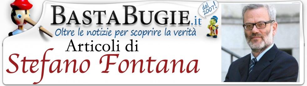 ARTICOLI di Stefano Fontana - Cover Image