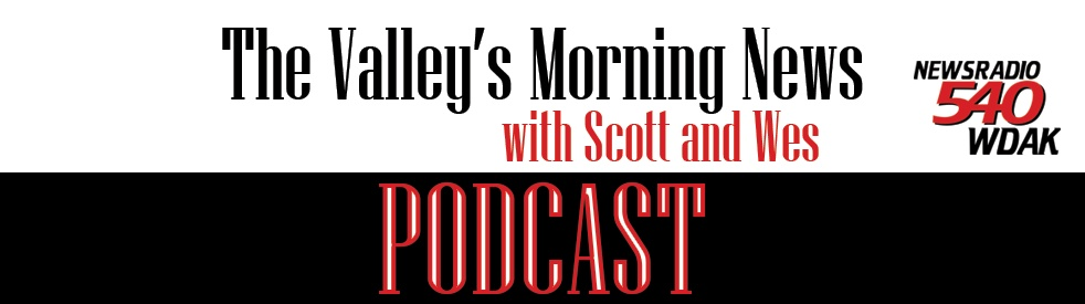 The Valley's Morning News Podcast - show cover