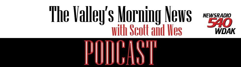The Valley's Morning News Podcast - immagine di copertina