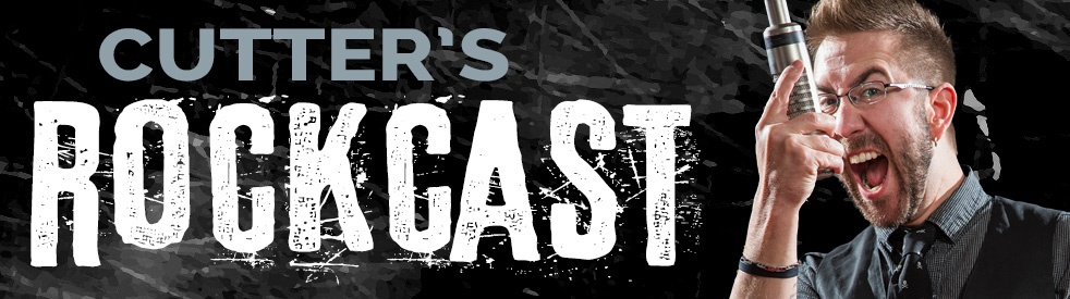 Cutter's RockCast - show cover