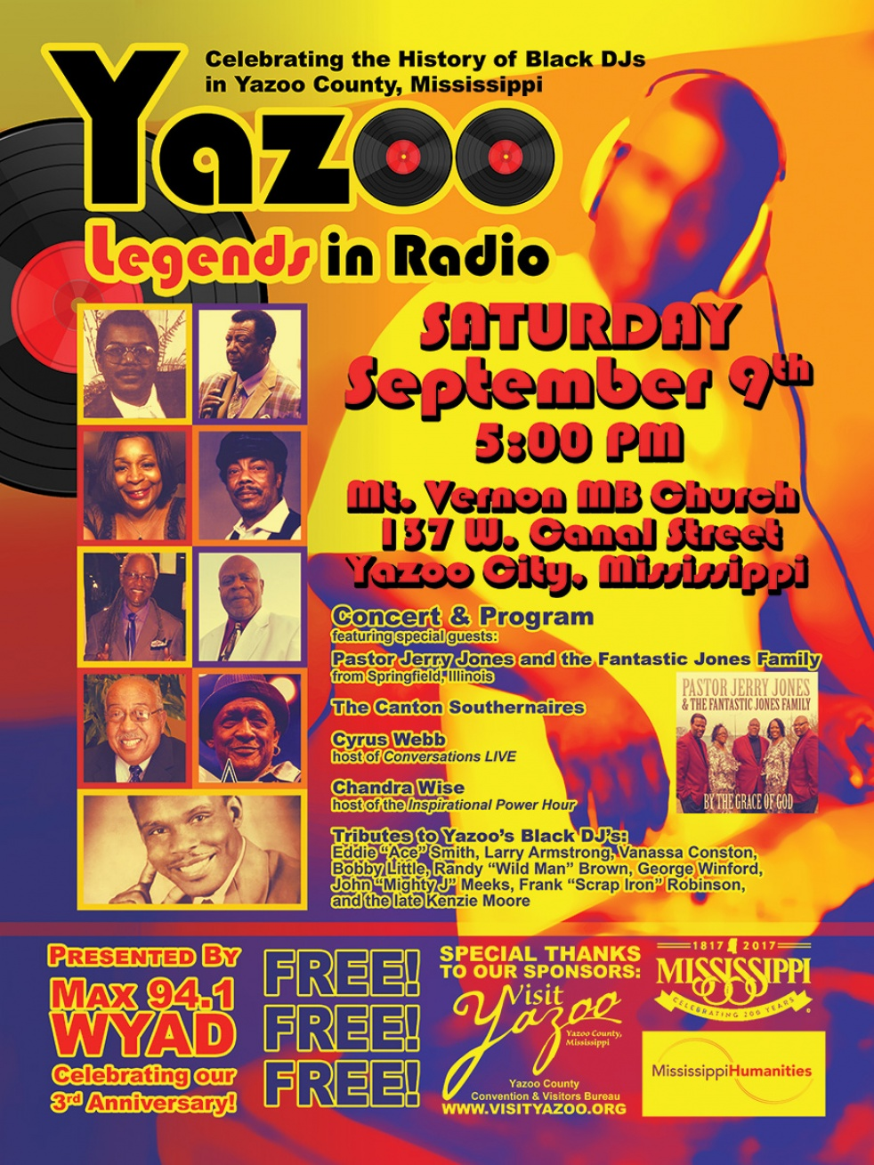 History of Black DJs in Yazoo City - show cover