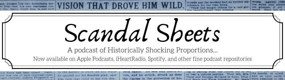 Scandal Sheets - imagen de portada