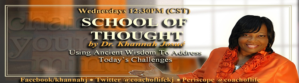 School of Thought: Dr Khannah Josue' - show cover