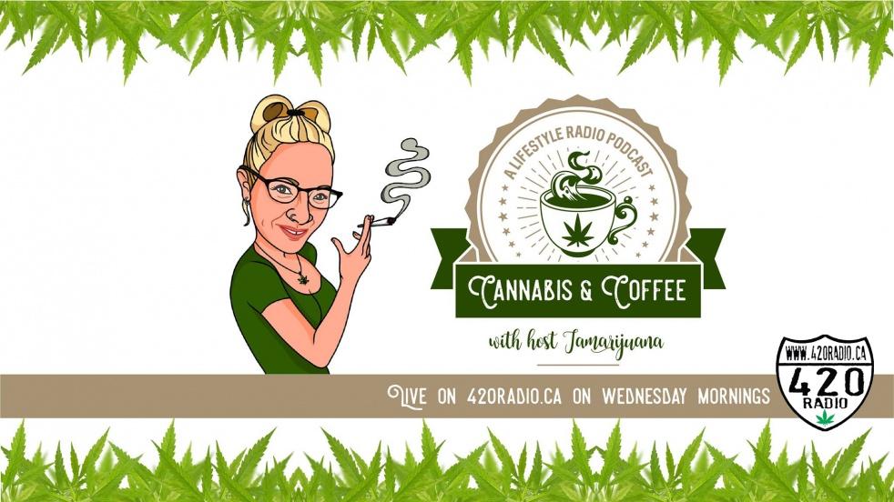 Cannabis and Coffee with Tamarijuana - Cover Image