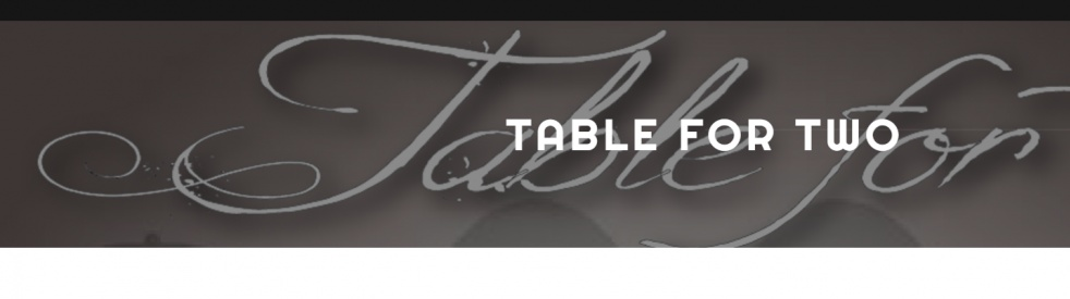 Table For Two - show cover