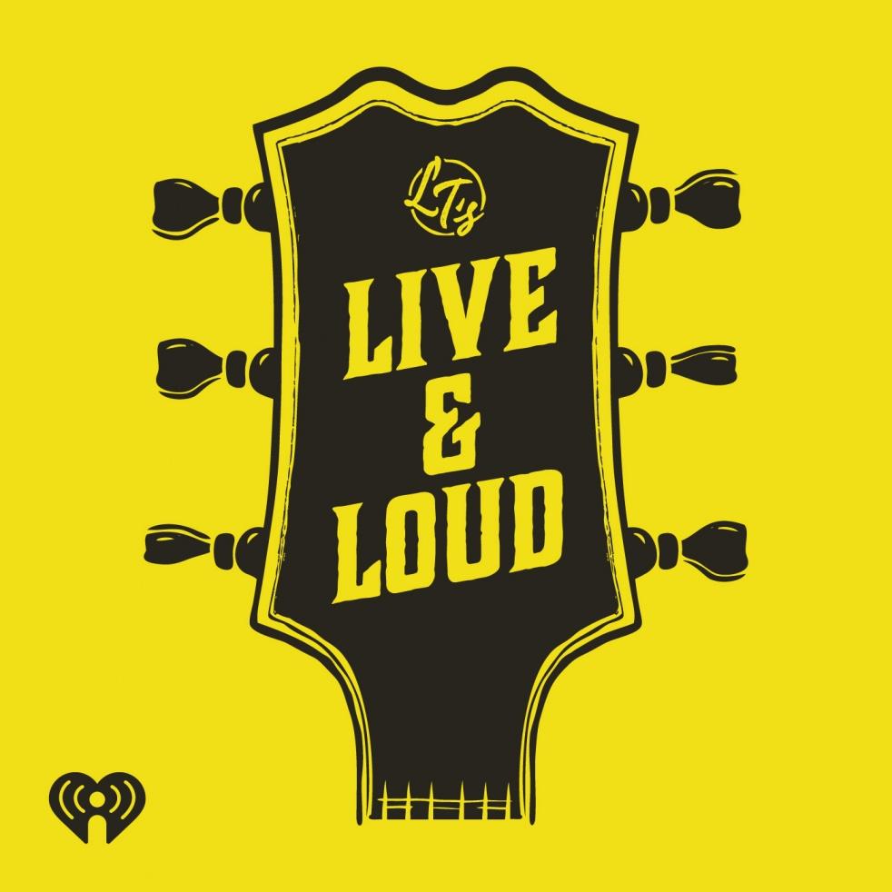 LT's Live & Loud - show cover