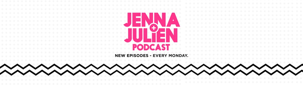 Jenna & Julien Podcast - show cover
