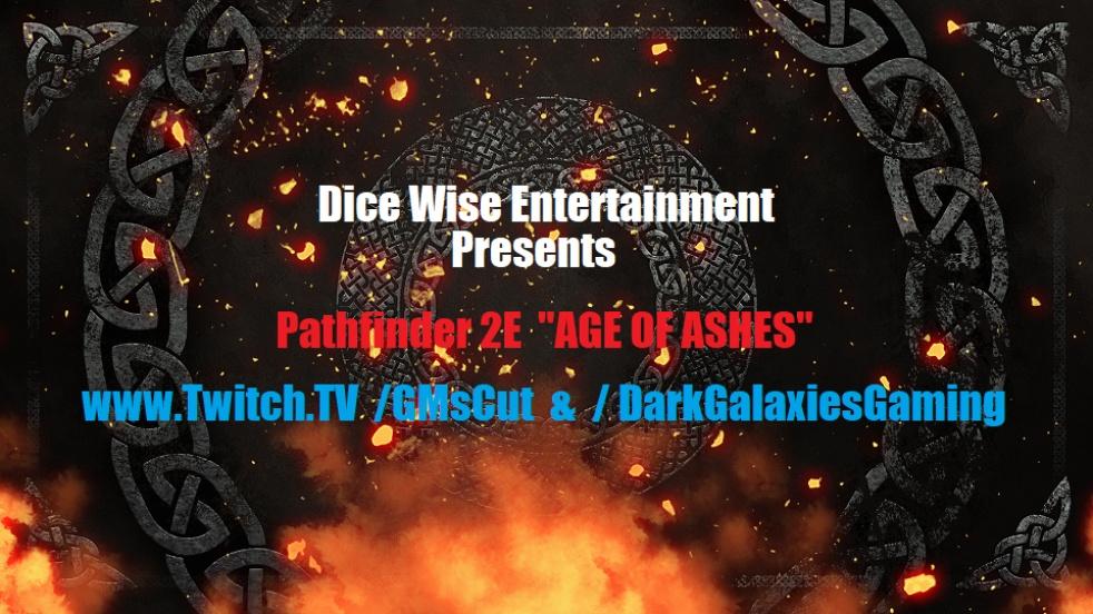 """DICE WISE Presents: P2E """"Age Of Ashes"""" - immagine di copertina dello show"""