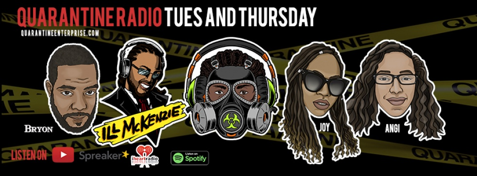 Quarantine Radio's show - show cover