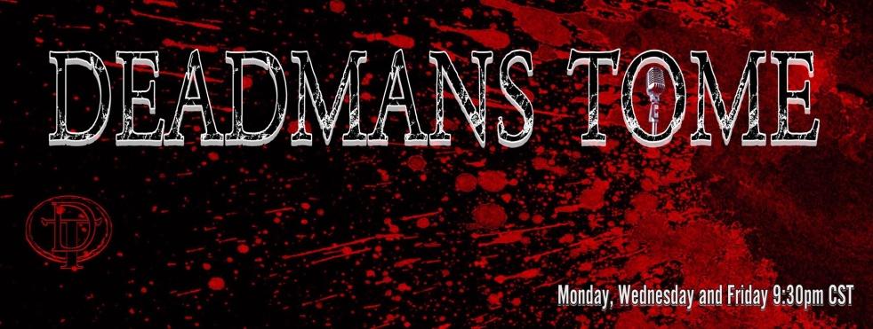 Deadman's Tome Podcast - imagen de show de portada