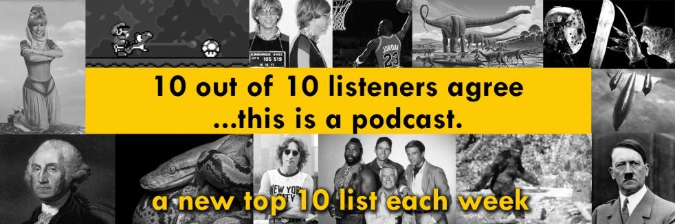 10ish Podcast - imagen de show de portada