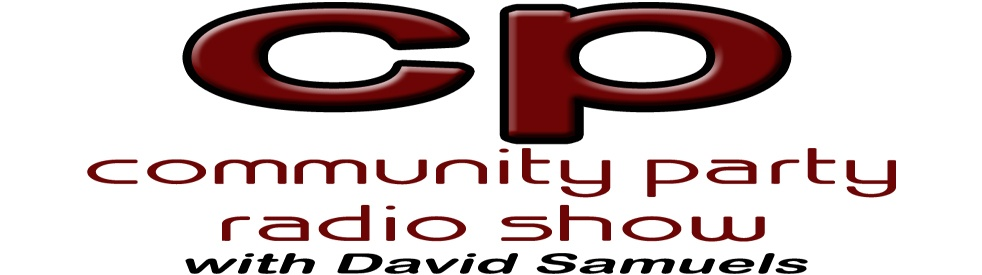 Community Party Radio Show - show cover
