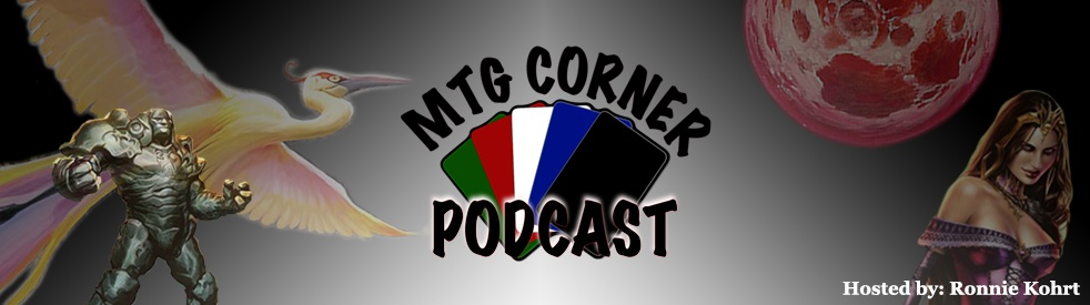 MTG Corner Podcast - show cover