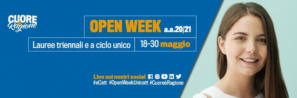 Open Week Unicatt - Cover Image