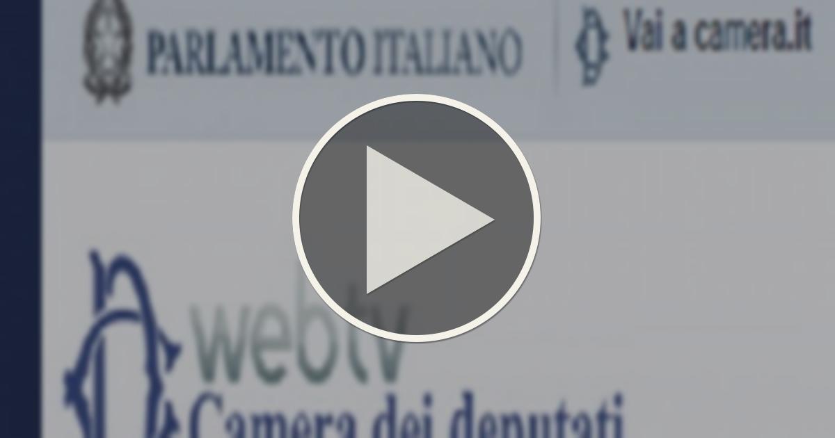 Camera dei deputati seduta 661 luned 25 luglio 2016 for Web tv camera dei deputati