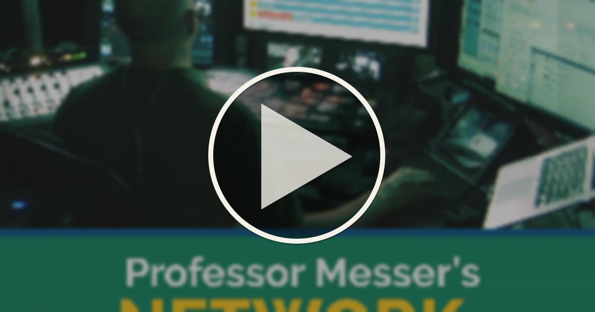 Professor Messer Chat Room