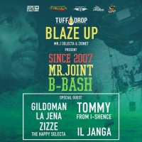 BLAZEUP PARTY MRJ B-Bash - Gildoman Live Mix (Vinyl only)