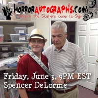 Spencer DeLorme of HorrorAutographs.com SF9 E26
