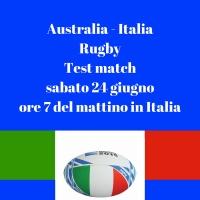 Radio Arca......l'Italia del rugby difende il tricolore  a Brisbane ( Australia )