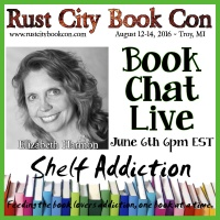 Ep 9: Author Interview with Elizabeth Harmon | Book Chat LIVE