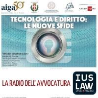 Tecnologia e Diritto: le nuove sfide - Convegno AIGA Treviso