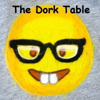 The Dork Table w Flash and moosegurl