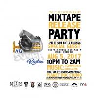 Spit It Out Mixtape Release Party