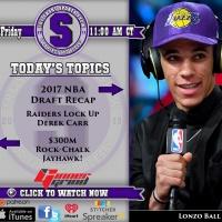 The Short Sports Show Ep. 210 | #NBADraft, #Raiders Making Moves, #RockChalk