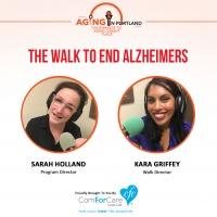 9/9/17: Sarah Holland, Program Director with Alzheimer's Association Oregon Chapter and Kara Griffey, Walk Director | The Walk To End Alzhei