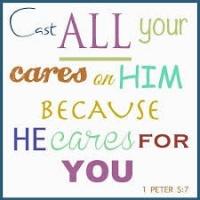 PRAYER - Casting My Cares