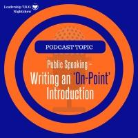 Writing An On-Point Introduction (PLUS extra help) | Lakeisha McKnight | Talk Tuesday