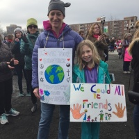 Women's March on Washington from Stamford, CT Site