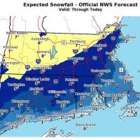 Roads In Decent Shape As Communities Weather Light Snowstorm