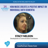5/23/17: Stacy Nelson with Alzheimer's Network | How music creates a positive impact on individuals with dementia